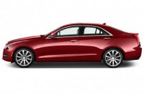 2017 Cadillac ATS Sedan 4-door Sedan 3.6L Premium Performance RWD Side Exterior View