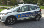 Is this the country's first Chevrolet Bolt EV police car? (updated with video)