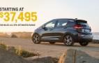 2017 Chevrolet Bolt EV priced from $37,495