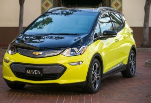GM, EVgo to build Chevy Bolt EV fast-charging network, for Maven drivers only