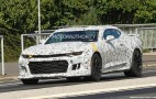 2017 Chevrolet Camaro ZL1 Spy Shots And Video