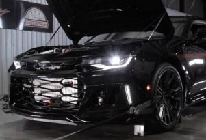 HPE Exorcist Camaro ZL1 on dyno