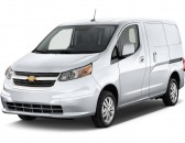 "2017 Chevrolet City Express Cargo Van FWD 115"" LT Angular Front Exterior View"