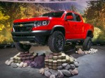2017 Chevrolet Colorado ZR2, 2016 Los Angeles auto show