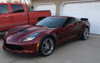 All it takes to total a C7 Corvette is one tiny crack