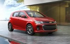 2017 Chevrolet Sonic revealed ahead of New York Auto Show