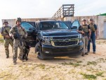 2017 Chevrolet Tahoe and Suburban Midnight Editions at The Range Complex in Raleigh, North Carolina