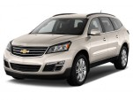 2017 Chevrolet Traverse FWD 4-door LT w/1LT Angular Front Exterior View