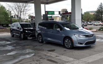 2017 Chrysler Pacifica Limited long-term test: Irish-twin mpg showdown