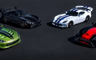 Dodge Viper ends production after 2017 model year