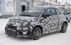 2017 Fiat 500 Abarth spy shots