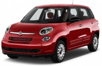 2017 FIAT 500L Pop Hatch Angular Front Exterior View