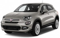 2017 FIAT 500X Lounge FWD Angular Front Exterior View