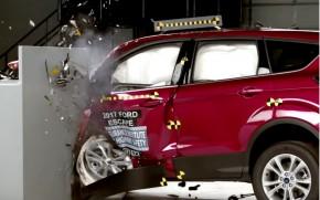 2017 Ford Escape IIHS Small Overlap Crash Test