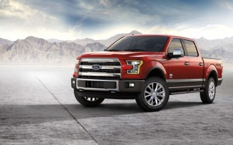 Ford recalls nearly 350,000 F-150 pickup trucks for brake issue