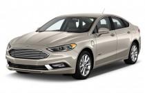 2017 Ford Fusion Energi SE Sedan Angular Front Exterior View