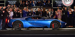 2017 Ford GT at Barrett-Jackson auction