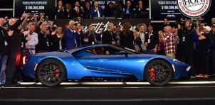 2017 Ford GT at Barrett-Jackson auction