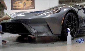 Jack Roush's Ford GT gets wrapped with Xpel