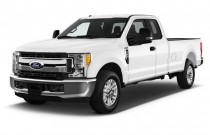 2017 Ford Super Duty F-250 SRW XLT 2WD SuperCab 8' Box Angular Front Exterior View