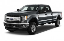 2017 Ford Super Duty F-250 SRW XLT 4WD Crew Cab 8' Box Angular Front Exterior View
