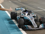Mercedes-AMG's Valtteri Bottas at the 2017 Formula 1 Abu Dhabi Grand Prix
