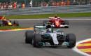 Mercedes AMG's Lewis Hamilton at the 2017 Formula 1 Belgian Grand Prix