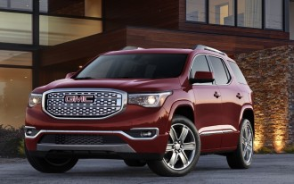 2017 GMC Acadia Trims Down, As GM Plans For Less Product Overlap