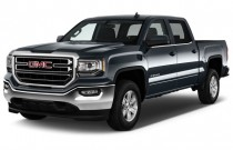 "2017 GMC Sierra 1500 2WD Crew Cab 143.5"" SLE Angular Front Exterior View"