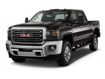 "2017 GMC Sierra 3500HD 2WD Crew Cab 153.7"" SLT Angular Front Exterior View"