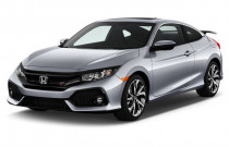 2017 Honda Civic Coupe Si Manual Angular Front Exterior View