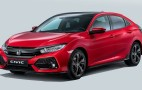 2017 Honda Civic Hatchback revealed ahead of 2016 Paris auto show