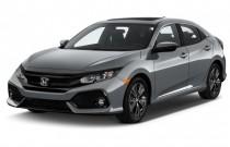 2017 Honda Civic Hatchback EX CVT Angular Front Exterior View
