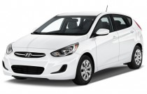 2017 Hyundai Accent SE Hatchback Automatic Angular Front Exterior View