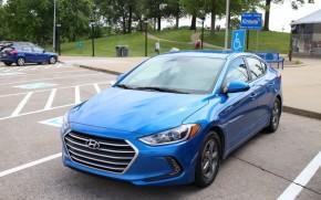 2017 Hyundai Elantra Eco road trip, May 2016 - Kentucky welcome center