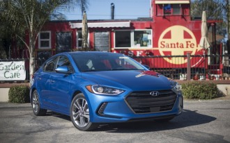 2017 Hyundai Elantra recalled over brake problems: nearly 34,000 vehicles affected