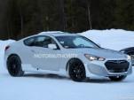 2017 Hyundai Genesis Coupe test mule spy shots - Image via S. Baldauf/SB-Medien