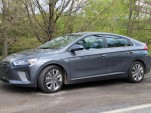2017 Hyundai Ioniq Hybrid Limited, Catskill Mountains, NY, May 2017