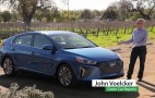 2017 Hyundai Ioniq Hybrid video drive review