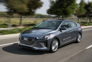 2018 Hyundai Ioniq Hybrid winter gas mileage review