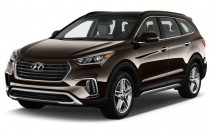 2017 Hyundai Santa Fe Limited Ultimate 3.3L Automatic Angular Front Exterior View