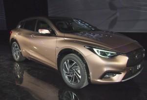 2017 Infiniti Q30, 2015 Frankfurt Auto Show