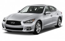 2017 Infiniti Q50 2.0t RWD Angular Front Exterior View
