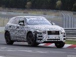 2017 Jaguar F-Pace spy shots - Image via S. Baldauf / SB-media