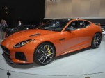 2017 Jaguar F-Type SVR. 2016 New York Auto Show