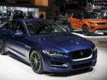 2017 Jaguar XE and 2016 Land Rover Discovery Sport