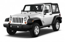 2017 Jeep Wrangler Sport 4x4 Angular Front Exterior View