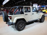 2017 Jeep Wrangler Unlimited Rubicon Recon, 2017 Chicago auto show