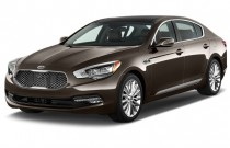 2017 Kia K900 V8 Luxury Angular Front Exterior View