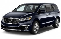 2017 Kia Sedona L FWD Angular Front Exterior View